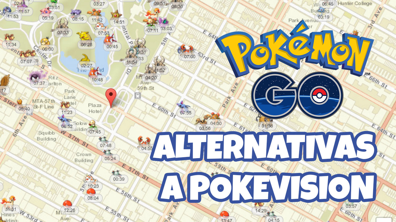 Las mejores alternativas a Pokevision